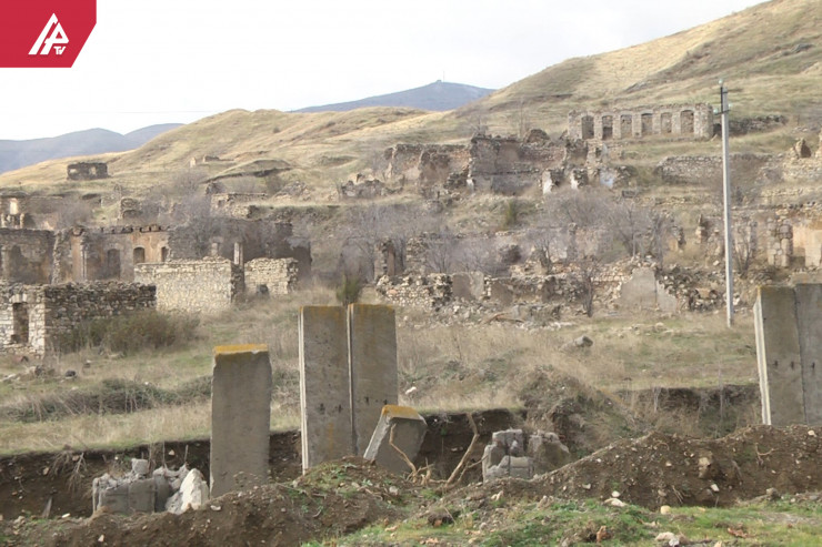 Liberated city of Azerbaijan from occupation - Jabrayil