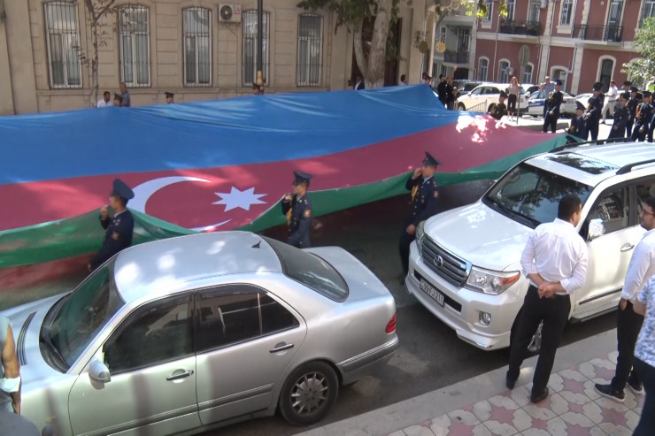 A united march of Azerbaijani and Turkish military forces  in the capital on the occasion of the  103rd anniversary of the liberation of Baku
